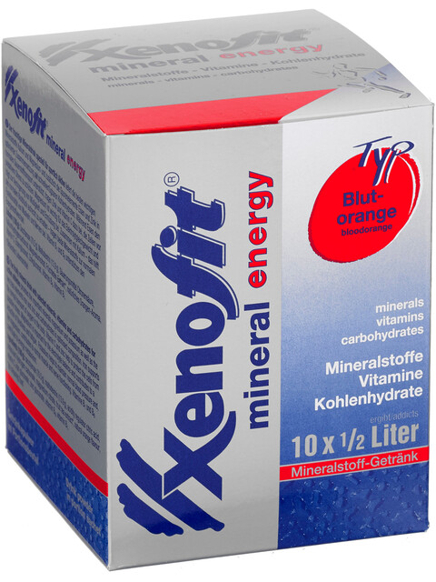 Xenofit Mineral Energy Drink Sports Nutrition 10 x 36g red/blue